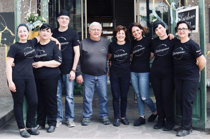 Il team del panificio Dolcepane