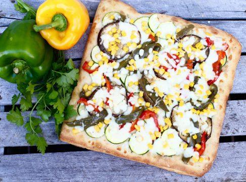 La pizza QuattroLati del panificio Dolcepane